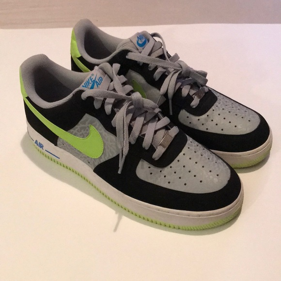 Nike Air Force 1 Low Reflect SilverVolt Black | Nike | Sole